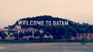 Landmark Welcome to Batam/batambanget