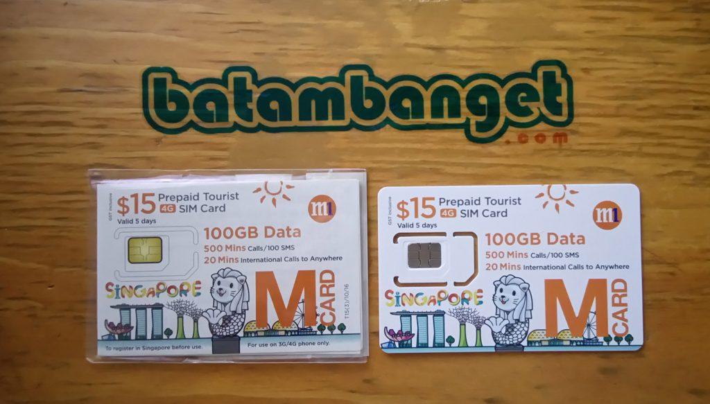 Sim Card M1/ batambanget